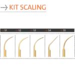 Kit Scaling Mectron – Ponta Ultrassônica para Raspagem e Limpeza