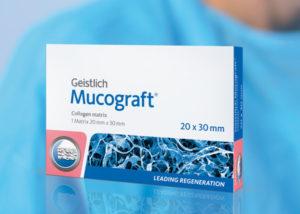 Matriz de Colágeno Reabsorvível Geistlich Mucograft®